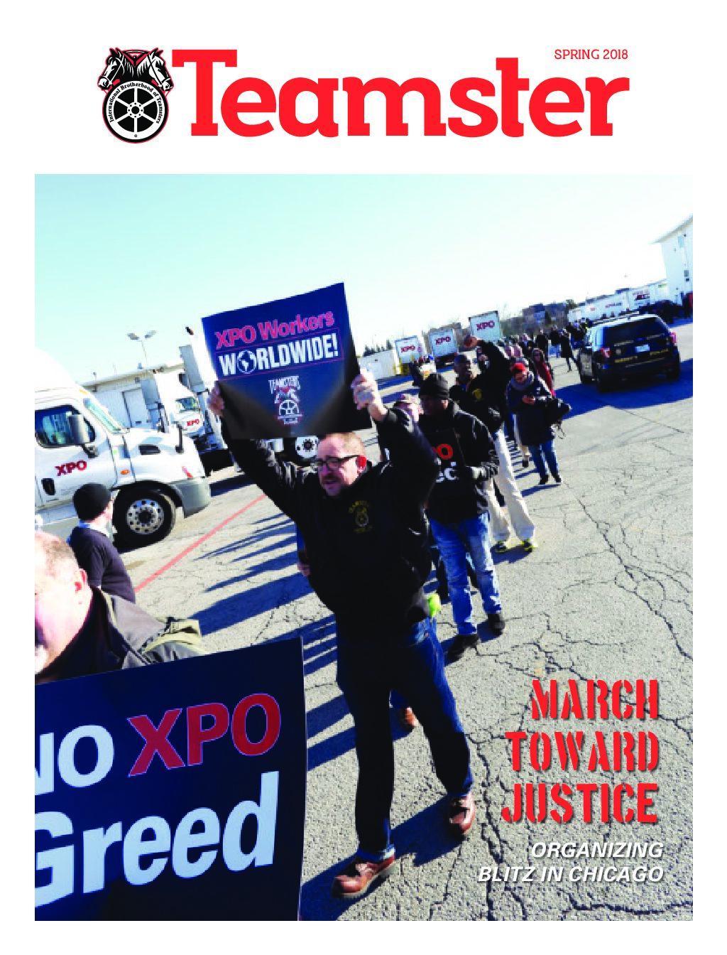 Teamster Magazine Spring 2018