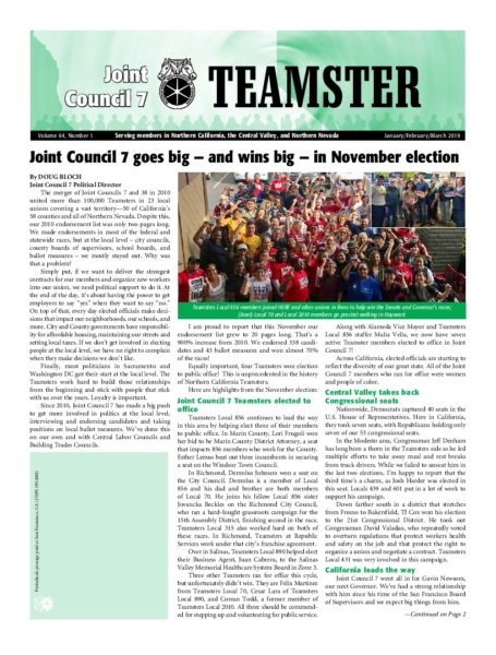 Joint Council 7 Newspaper